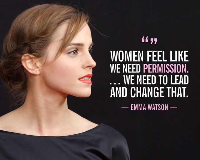Women Empowerment Quote, emma watson, quote