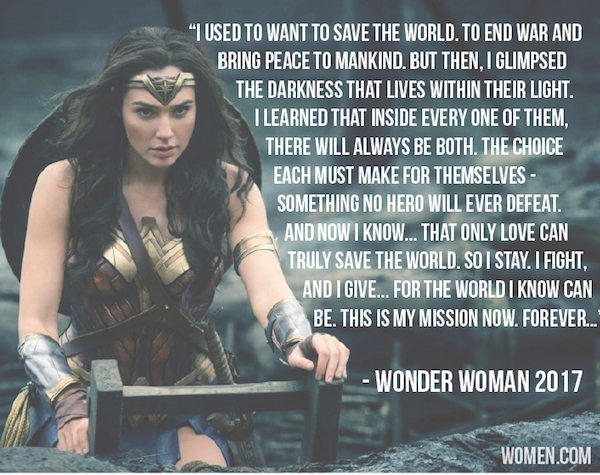 Wonder Woman Women Empowerment Quotes 2017, wonder woman, quotes