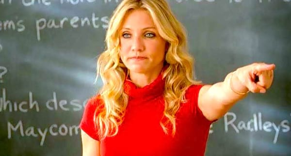 cameron diaz, bad teacher, quiz