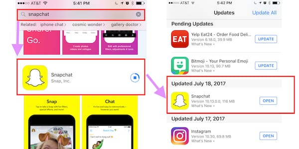 Snapchat Multi-Snap Not Working On Android?, Snapchat Version 10.13.0.0