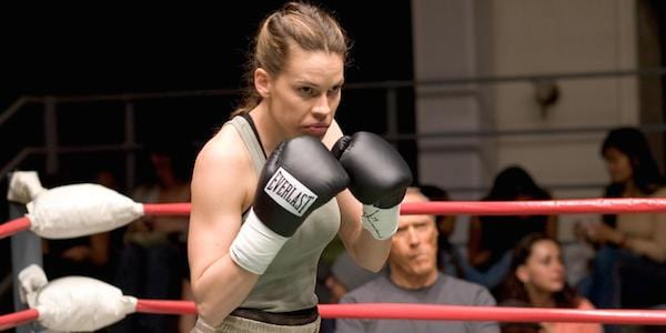 Million Dollar Baby, hilary swank, boxing, sports, athlete, athletic, exercise