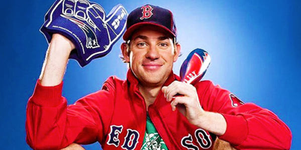 jim halpert, jonathan krasinski, red sox, boston
