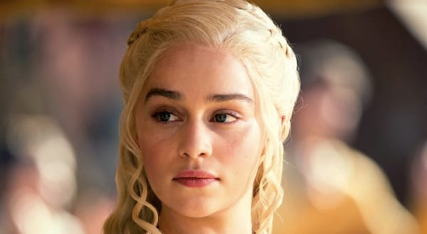 Khaleesi, game of thrones, smart, powerful, queen, blond, blonde, thinking