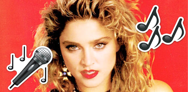 80s, Music, 80, madonna, Clipping