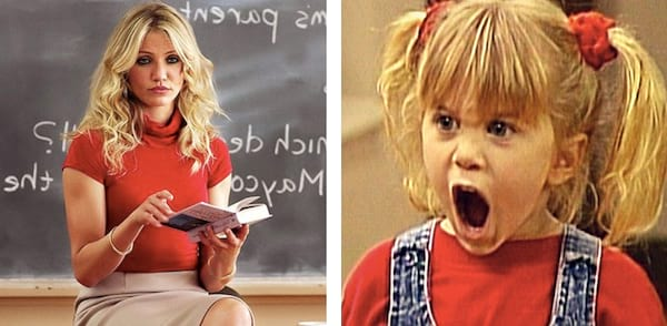 Michelle Tanner, Clipping, ps, split screen