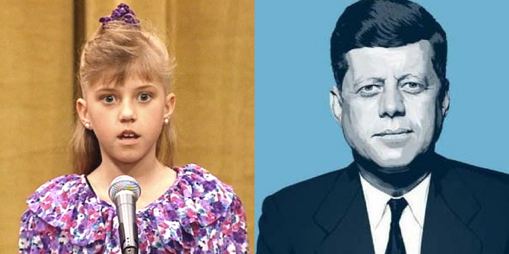 jfk, stephanie tanner, knowledge
