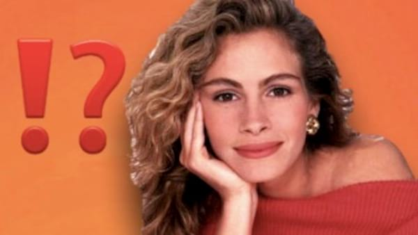 thinking, Clipping, ps, julia roberts, pretty, pretty woman, think, general knowledge, iq, question mark, idk