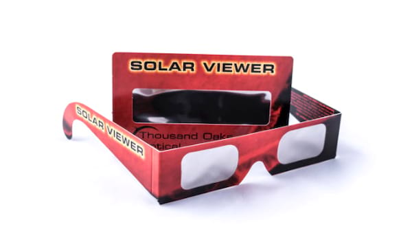 Thousand Oaks Optical Solar Sunglasses And Solar Viewer Cards, NASA Certified