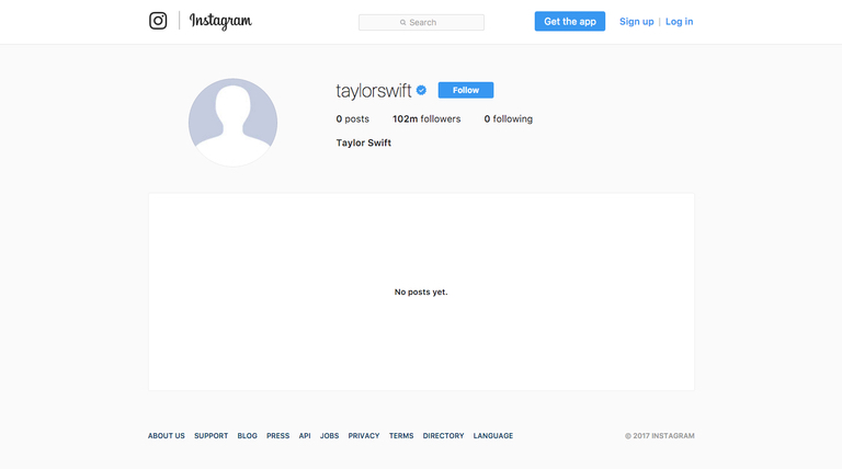 Taylor Swift, Why Did Taylor Swift Delete Her Instagram Photos, instagram