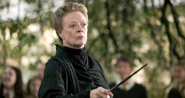 harry potter, minerva mcgonagall