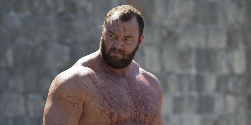 tv, game of thrones, gregor clegane, the mountain