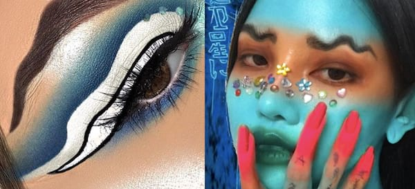 How To Make Squiggle Brows Video Photo, Squiggle Brows Video, fashion