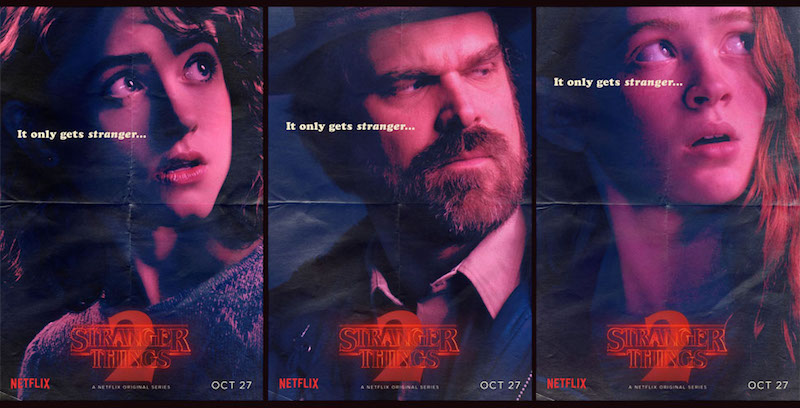 Stranger Things 2 Posters Artwork