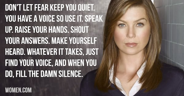 Inspirational Grey\'s Anatomy Meredith Grey Quotes To Get You ...