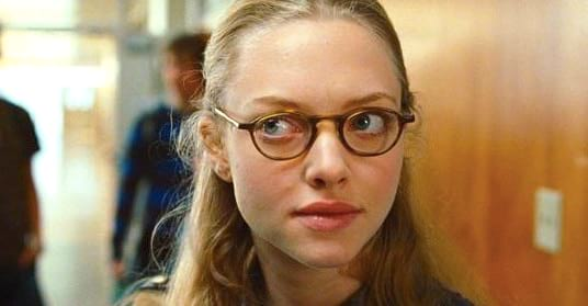 glasses, smart, quiz, blond, blonde, Amanda