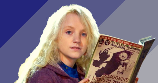 luna lovegood, harry potter