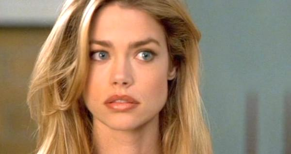 juju, denise richards, pretty, celebs, quiz, smart, iq, think, thinking, confused, blond, blonde, shock, funny face, close up