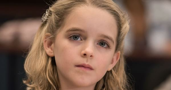 kid, gifted, crop close, blonde, blond, girl, smart, movies/tv