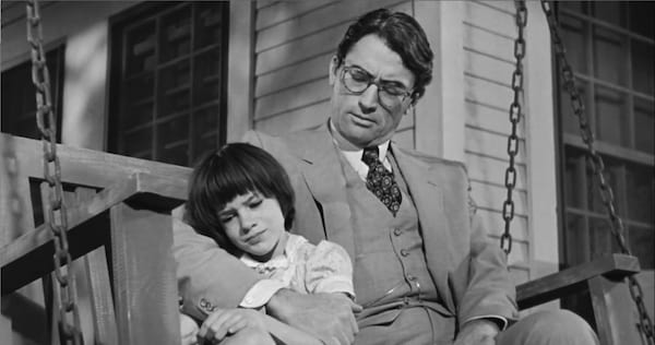 to kill a mockingbird, Atticus, scout, finch, Gregory Peck, black and white, movies/tv