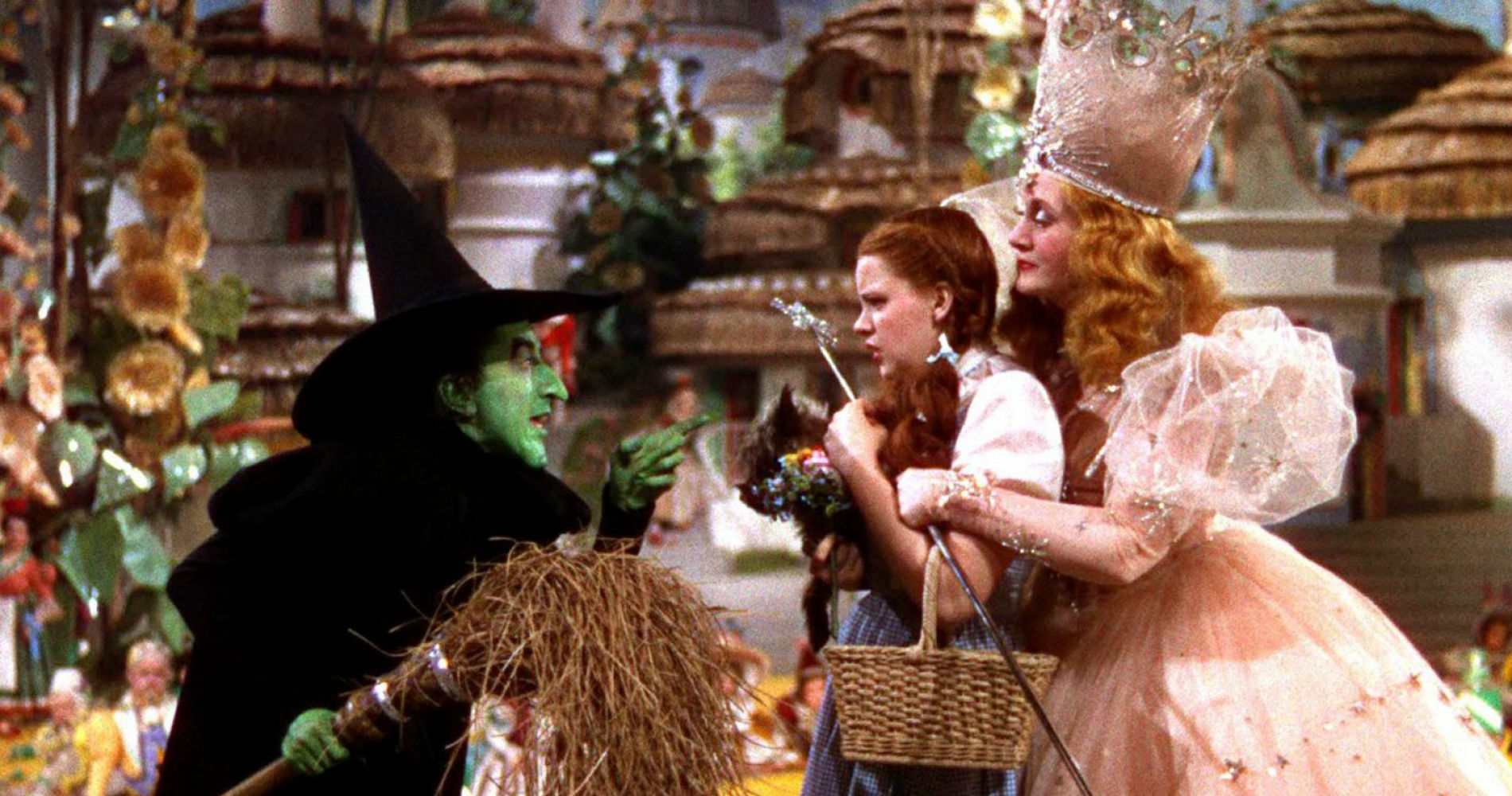 wizard of oz, good witch, bad witch, dorothy