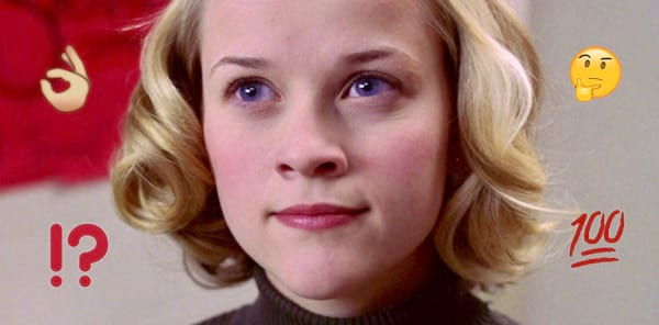 smart, intelligent, thinking, knowledge, grammar, spelling, iq, reese witherspoon, election, Tracy Flick