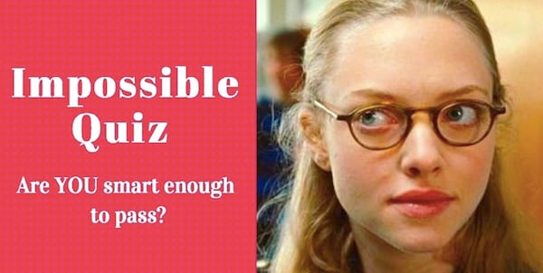 Impossible quiz, quiz, smart