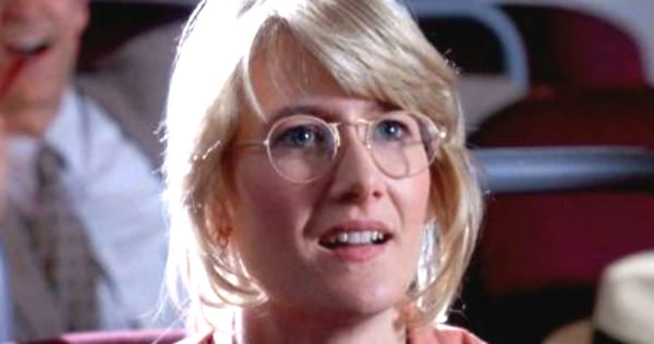 laura dern, blonde, glasses, smart, women, woman, genius, science