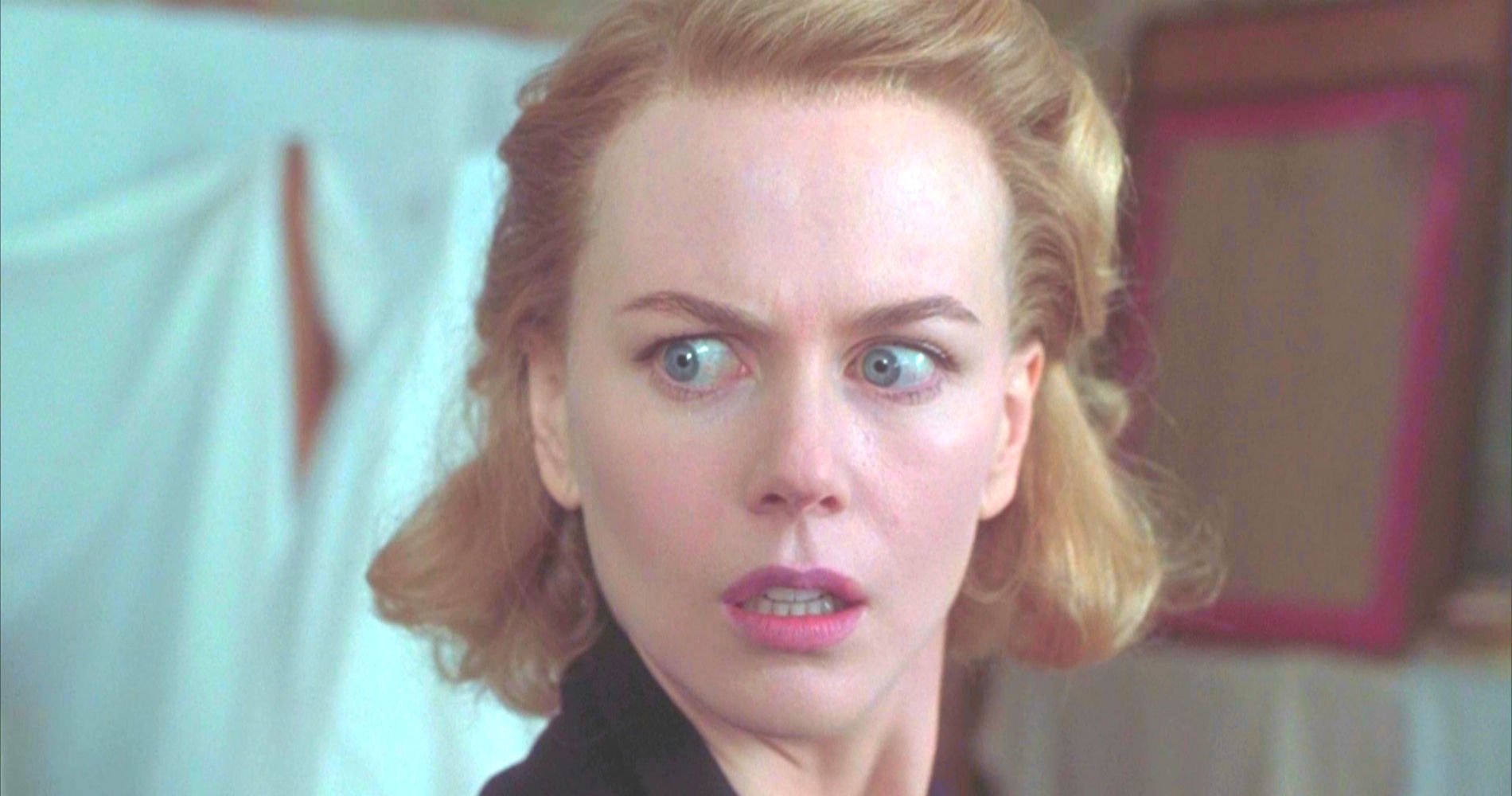 nicole kidman, scared, woman, women, redhead, The Others, ghost, horror