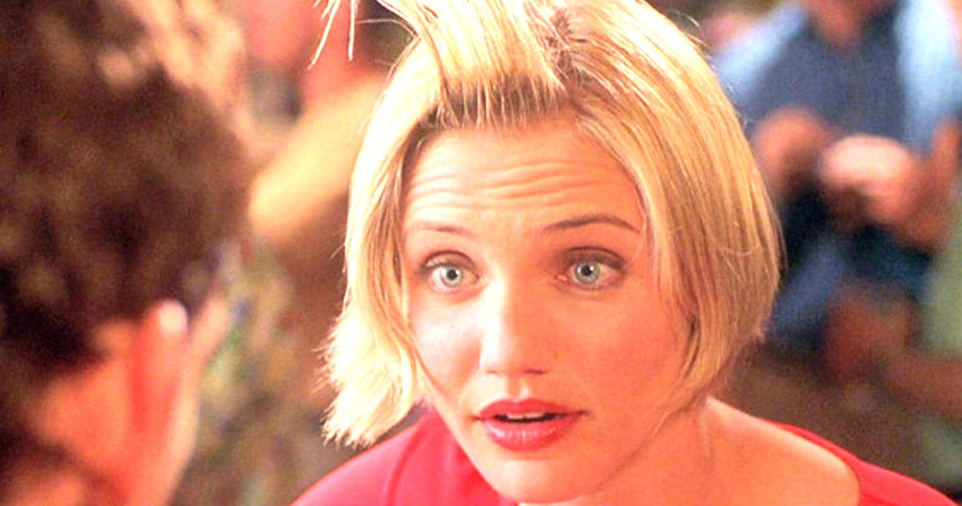 cameron diaz, theres something about mary, blonde, hair, woman
