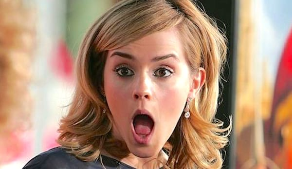 emma watson, shock, what, WTF, lol, weird, funny, funny face, quiz, smart, genius, omg, juju
