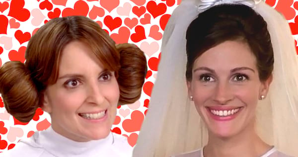 tina fey, 30 rock, liz lemon, julia roberts, Runaway Bride, bride, wedding, love, hs