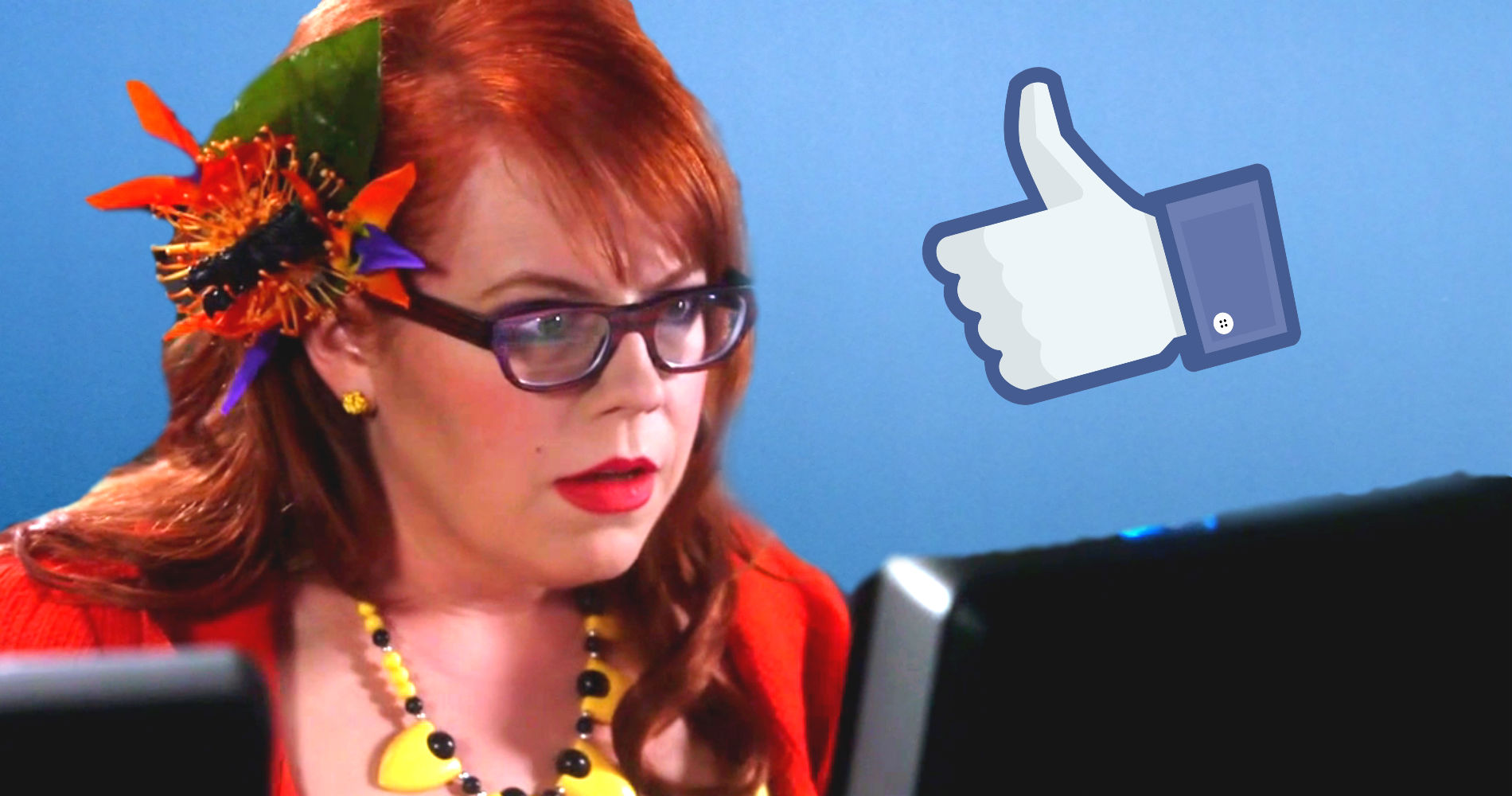 facebook, red head, criminal minds, computer, hs