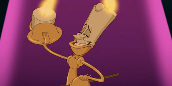 lumiere, beauty and the beast