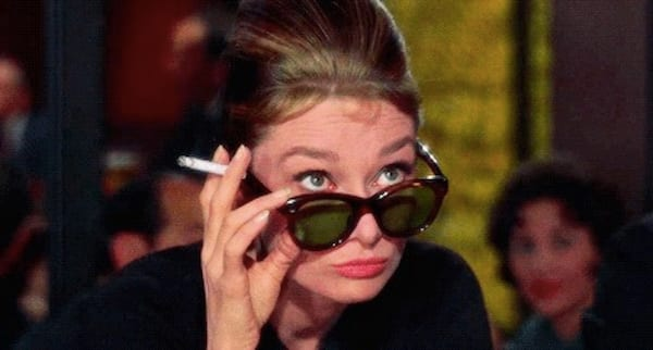 audrey, audrey hepburn, glasses, smart, think, classic, history, old, Vintage, juju