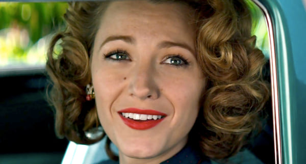 curly hair, red lips, fashion, 20s, 20th Century, The Age of Adaline, blake lively, movies/tv, celebs, beauty