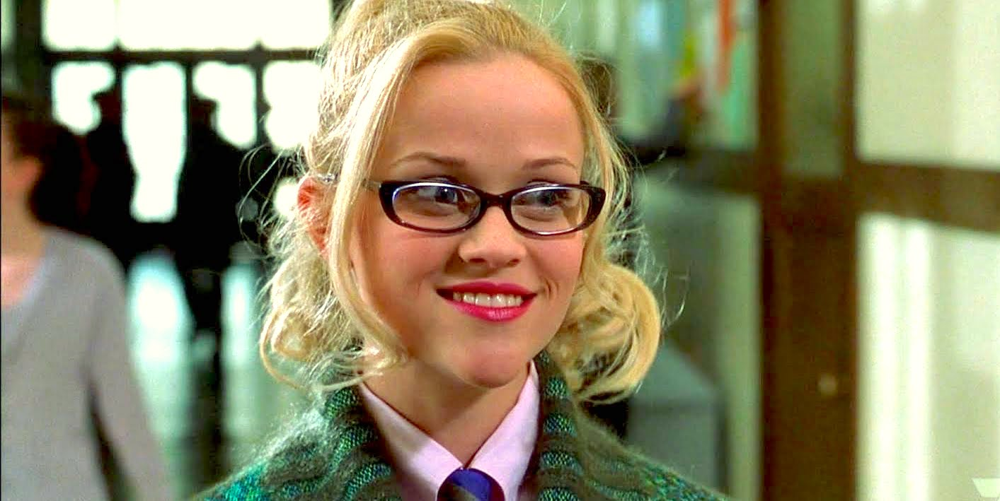 legally blonde, glasses, smart, quiz, juju