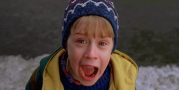 home alone, boy, child, screaming, yelling, scary, scared, snow, Chicago, quiz