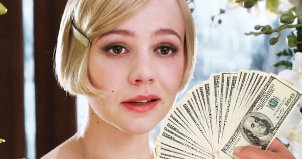 expensive, classy, short hair, dollar, Great Gatsby, money