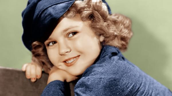 Shirley Temple, 60s, 70s, child, smile, celebs, movies/tv