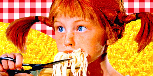 pasta, italian, little debbie, redhead, girl, food