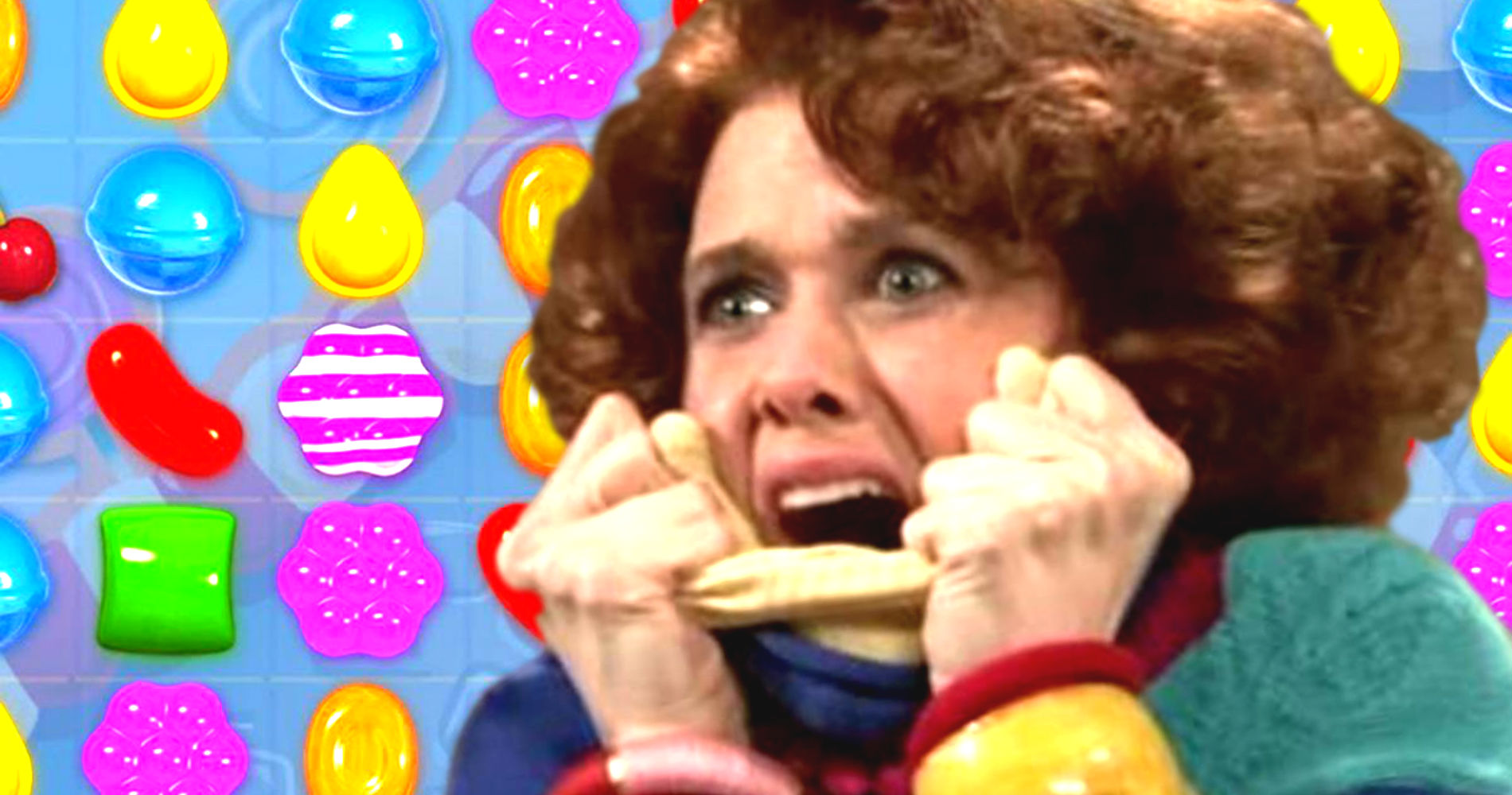 kristen wiig, candy crush, video game, game, phone, hs, snl