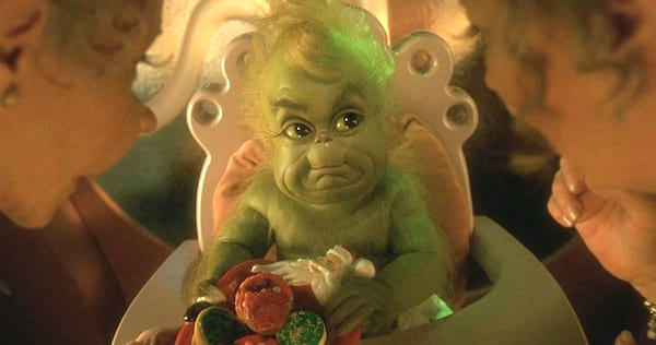 baby grinch, grinch, christmas, movie, holiday, hs