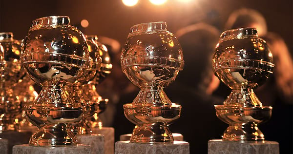graphic relating to Golden Globe Ballots Printable identified as Golden Globes 2018 Black And White Printable Ballot Listing