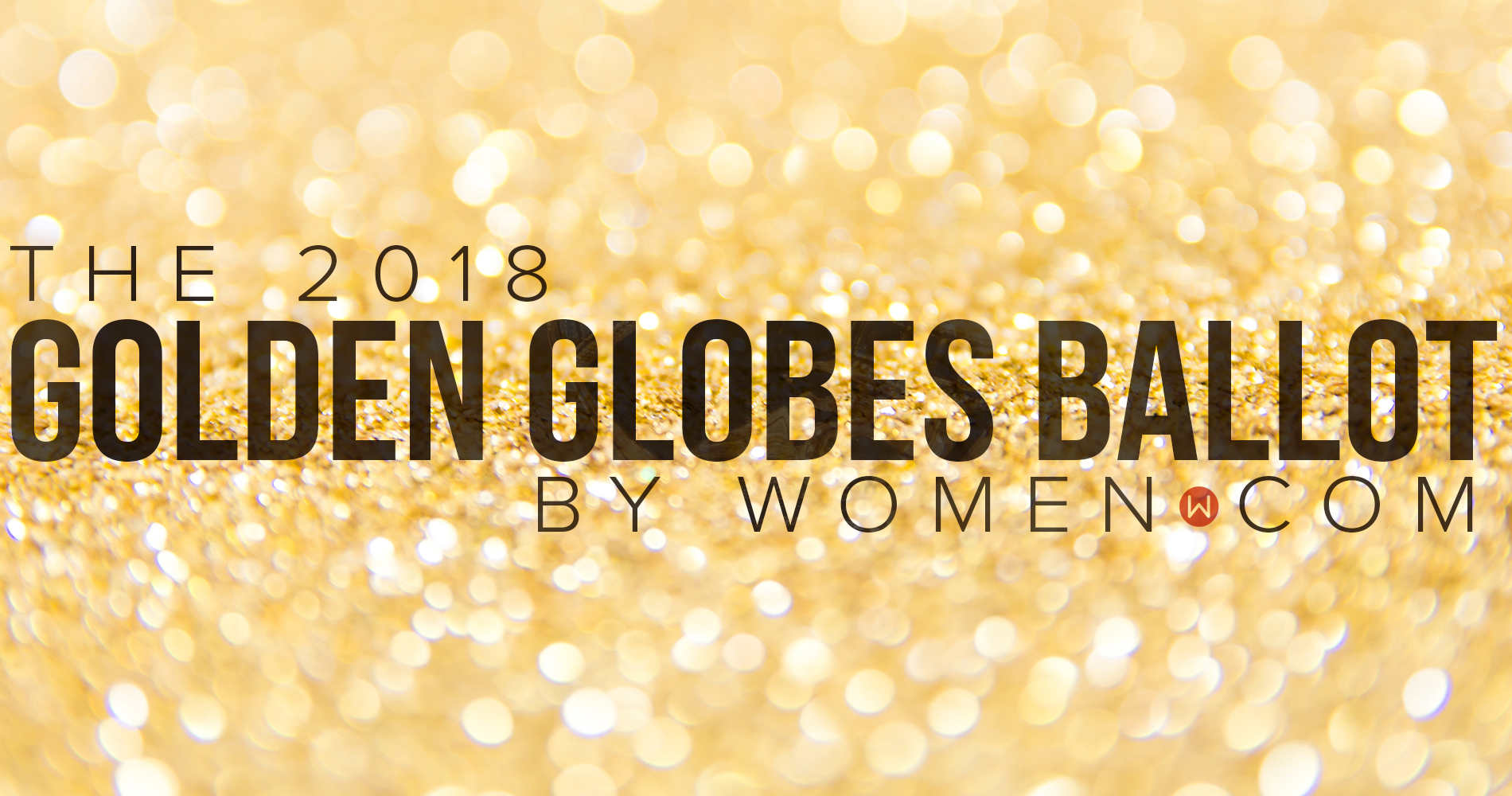golden globes, 2018, Nominations, ballot, list, free, printable