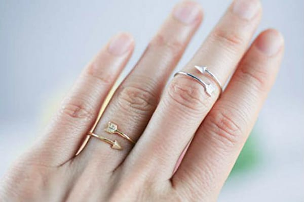 rings, jewelry, gift, gift guide, Arrow, valentines, hs