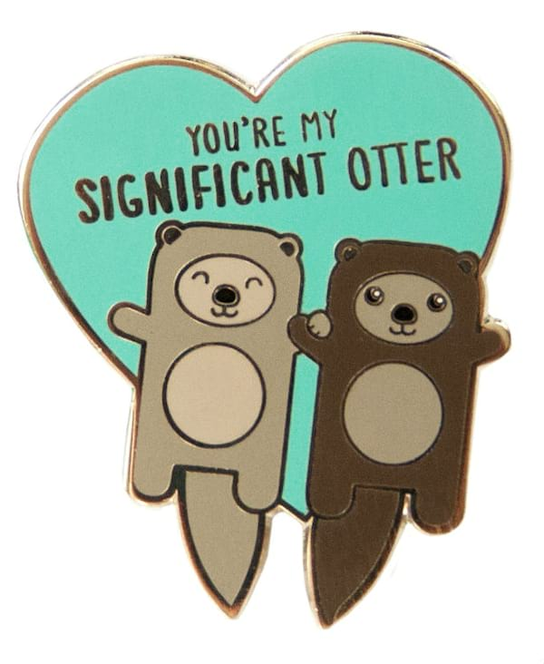pin, otter, animal, cute, gift, gift guide, hs
