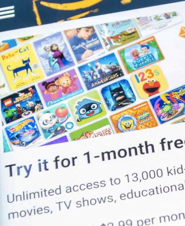 What is Amazon freetime unlimited, freetime, free, trial
