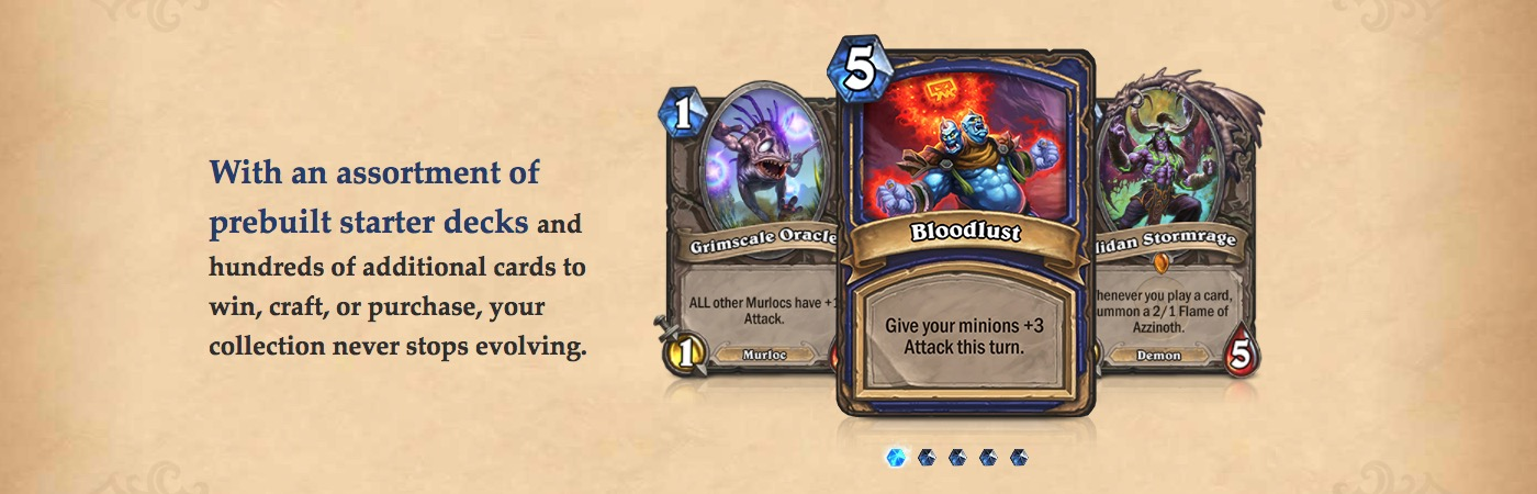 What are hearthstone cards?