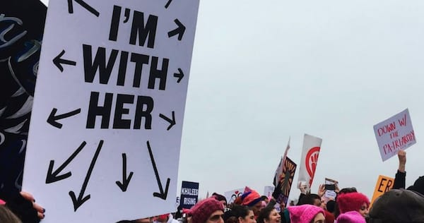 womens march, womens march 2018, feminist, feminism, equal rights, hero, hs