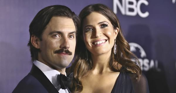 Photo of Milo Ventimiglia and Mandy Moore from This Is Us., pop culture, movies/tv
